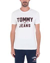 Tommy Hilfiger White T-shirt for men