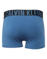 Bóxer Calvin Klein de hombre de color Blue