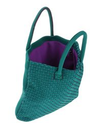 Leghilà - Green Handbag - Lyst
