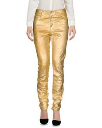 Pantalones Étoile Isabel Marant de color Yellow