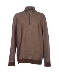 Brooks Brothers Brown Sweatshirt for men