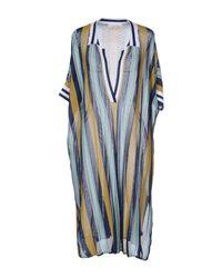 Jucca Blue Short Dress