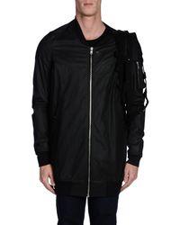Rick Owens Black Jacket for men