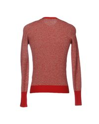 Drumohr Red Jumper for men