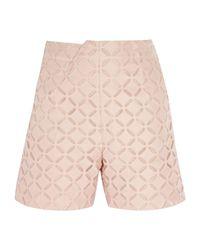 Short Roland Mouret en coloris Pink
