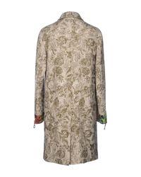 Etro Natural Coat for men