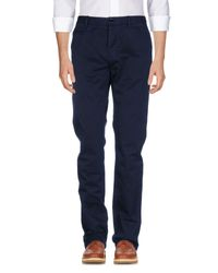 Burberry Blue Casual Trouser for men