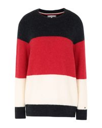 Pullover di Tommy Hilfiger in Red