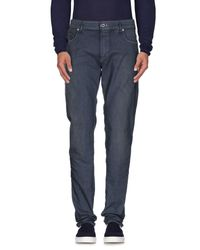 DIESEL Blue Denim Pants for men
