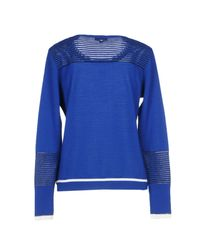 ESCADA Blue Sweater