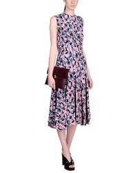 Marni Pink 3/4 Length Dress