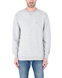 Stussy Gray Sweatshirt for men