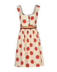 Suoli | White Short Dress | Lyst