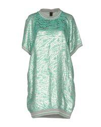Jijil Green Short Dress