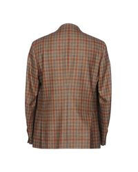 Isaia Brown Blazer
