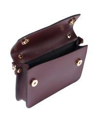 Manifatture Campane Purple Handtaschen