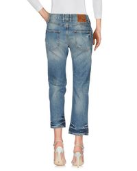 Ltb - Blue Denim Pants - Lyst