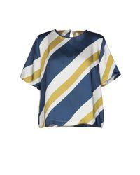 Blouse Souvenir Clubbing en coloris Blue