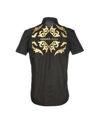 Versace Jeans Black Shirt for men