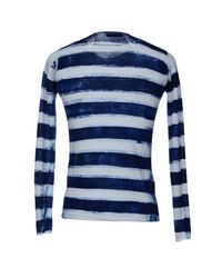 Roberto Collina Blue Jumper for men