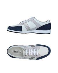 Borsalino Gray Low-tops & Sneakers