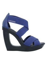 Calvin Klein Blue Sandals