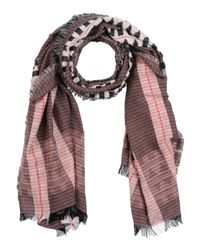 French Connection - Black Scarves - Lyst