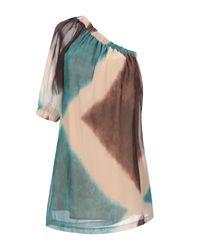 Souvenir Clubbing Natural Kurzes Kleid