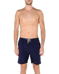 Scotch & Soda Blue Swimming Trunks for men