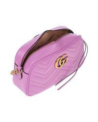 Gucci - Purple Cross-body Bag - Lyst