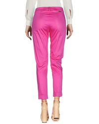 Blugirl Blumarine Pink Casual Pants