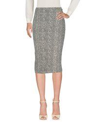 Elisabetta Franchi Black 3/4 Length Skirts