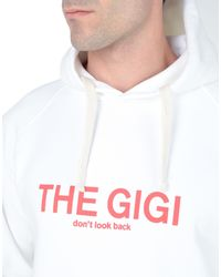 The Gigi White Sweatshirt for men