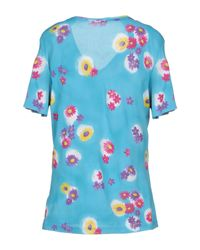 Roberta Puccini By Baroni Blue T-shirts