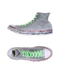 Converse - Gray High-tops & Sneakers - Lyst