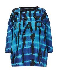 T-shirt Pinko en coloris Blue