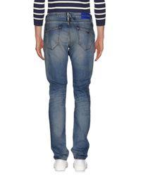 Emporio Armani Blue Denim Pants for men