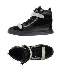 Giuseppe Zanotti Green High-tops & Sneakers for men
