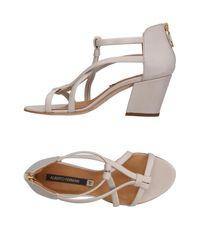 Alberto Fermani Gray Sandals