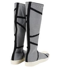 Adidas Originals - Black 'superstar Primeknit' High Boots - Lyst