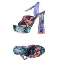 Sophia Webster Purple Sandals