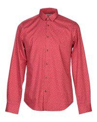 Camisa Ben Sherman de hombre de color Red