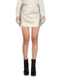 Aspesi - Multicolor Mini Skirt - Lyst