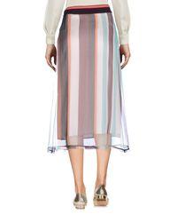 Marni Natural 3/4 Length Skirt