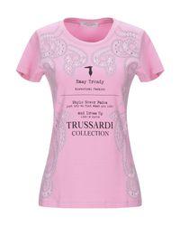 Camiseta Trussardi de color Pink