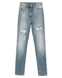 Pantaloni jeans di Moschino in Blue