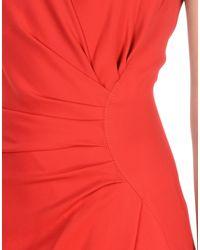 Lanvin Red Long Dress