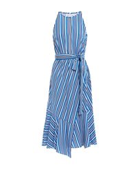 10 Crosby Derek Lam Blue 3/4 Length Dress