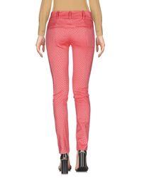 Patrizia Pepe Red Casual Pants
