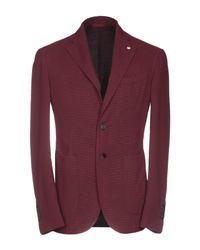 L.b.m. 1911 Red Suit Jacket for men